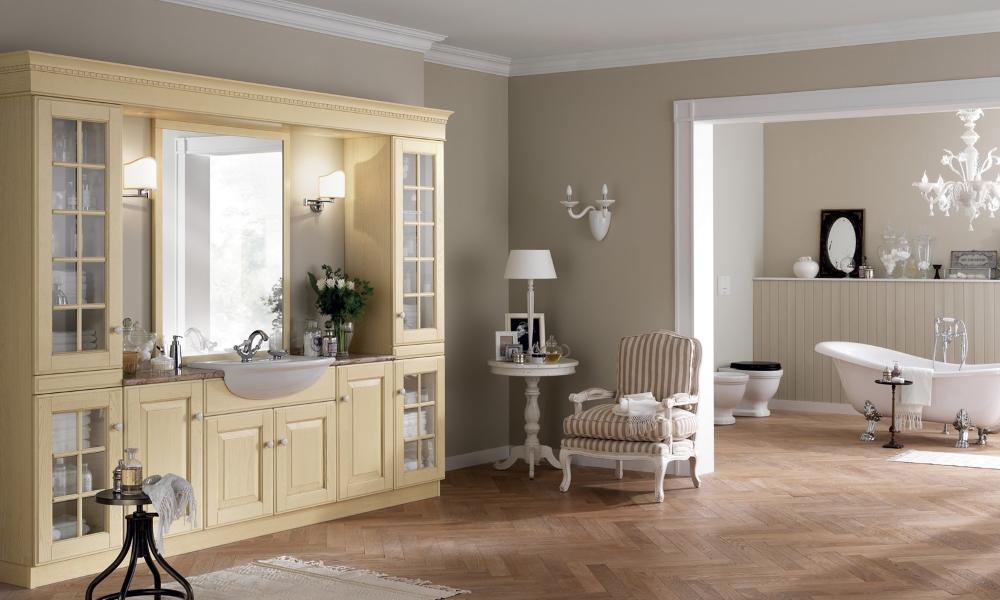 arredo bagno classici, mobili classici bagno su misura, mobili su ... - Arredo Bagno Classico