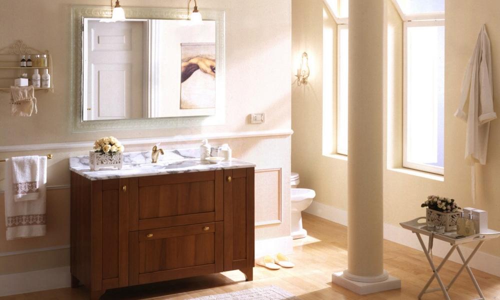 arredo bagno classici, mobili classici bagno su misura, mobili su ...