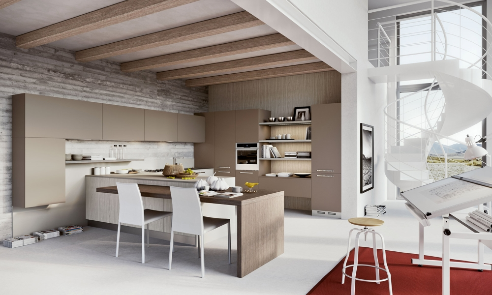 Cucina Con Boiserie : Cucine moderne cucine componibili moderne cucina componibile
