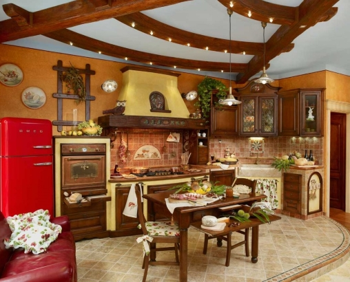 cucine rustiche, cucine componibili rustiche, cucina componibile ...
