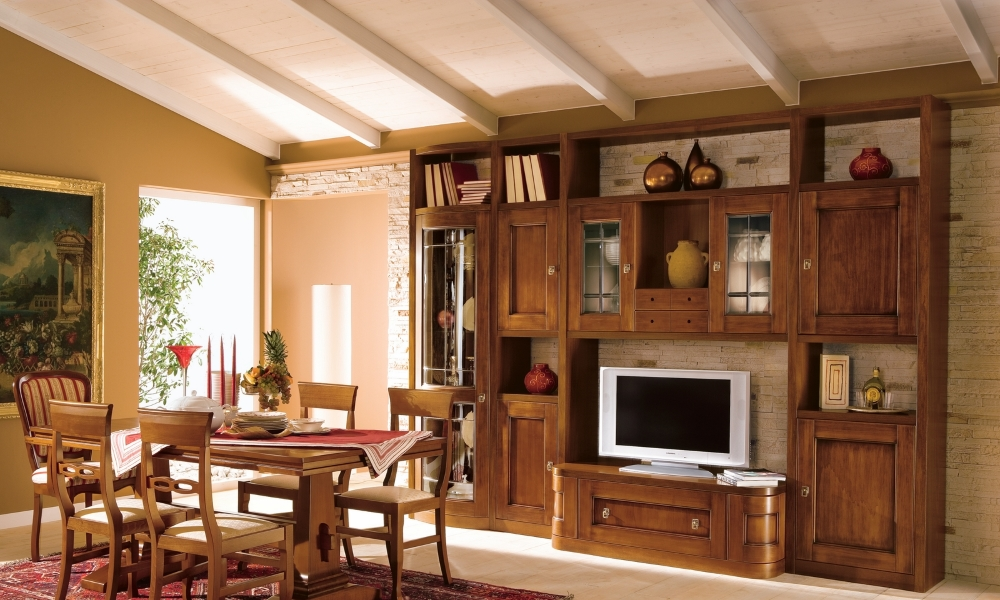 ... classici, soggiorni classici componibili, mobili soggiorno classico